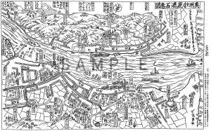 2.奥州牡鹿湊石巻図