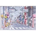 3月 寿町通りの風景